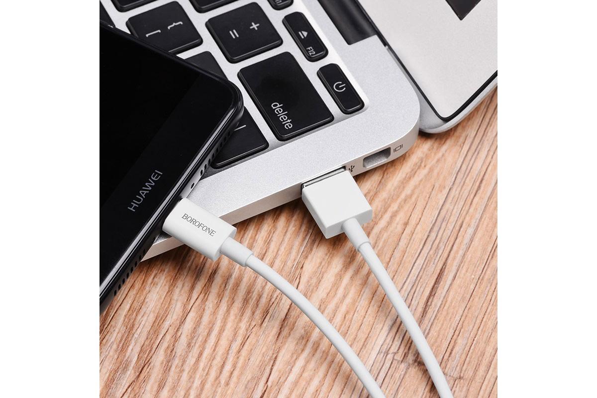 Набор кабелей BOROFONE BX3 30 штук в колбах с подставкой (Lighting ,Type-C , Micro USB)