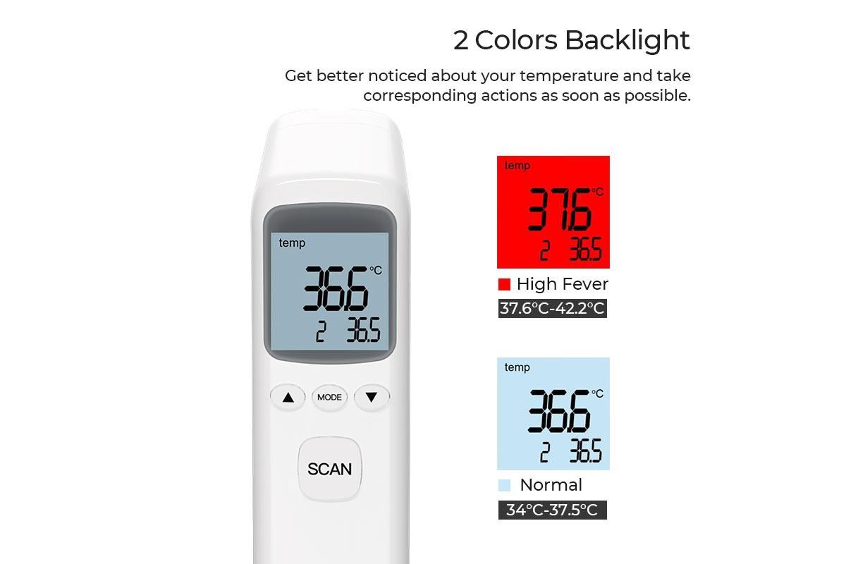 Инфракрасный термометр бесконтактный HOCO YS-ET03