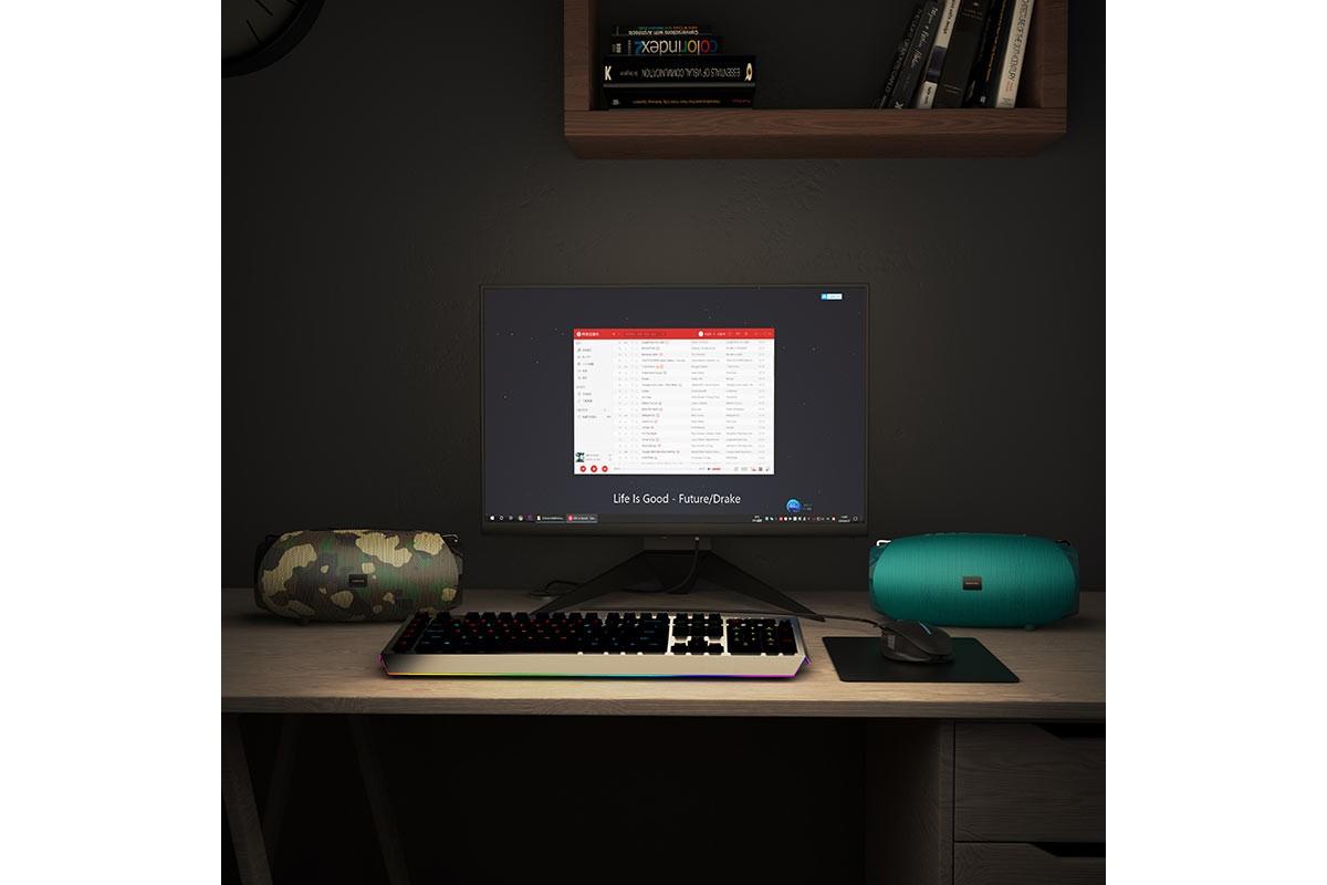 Портативная беспроводная акустика BOROFONE BR12 Amplio sports wireless speaker  цвет камуфляж
