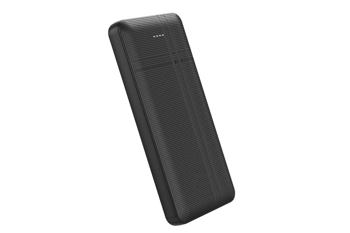 Универсальный дополнительный аккумулятор HOCO  J48 Nimble mobile power bank 10000 mAh черный