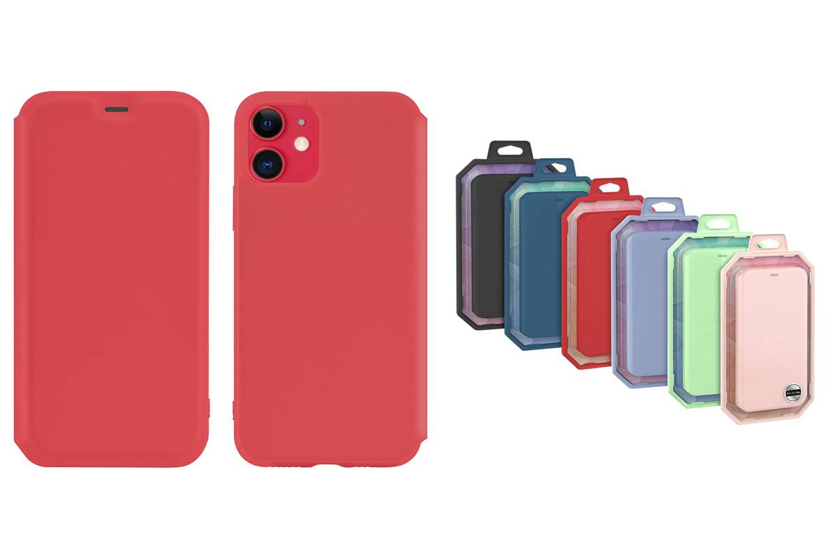 Чехол-книжка HOCO iPhone 11 (6.1) красная