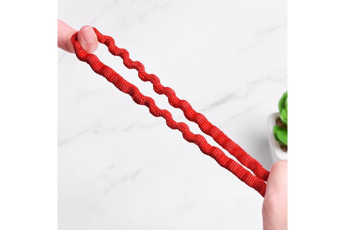 Кабель USB micro USB HOCO U78 Cotton treasure elastic charging data cable Micro (красный) 1 метр