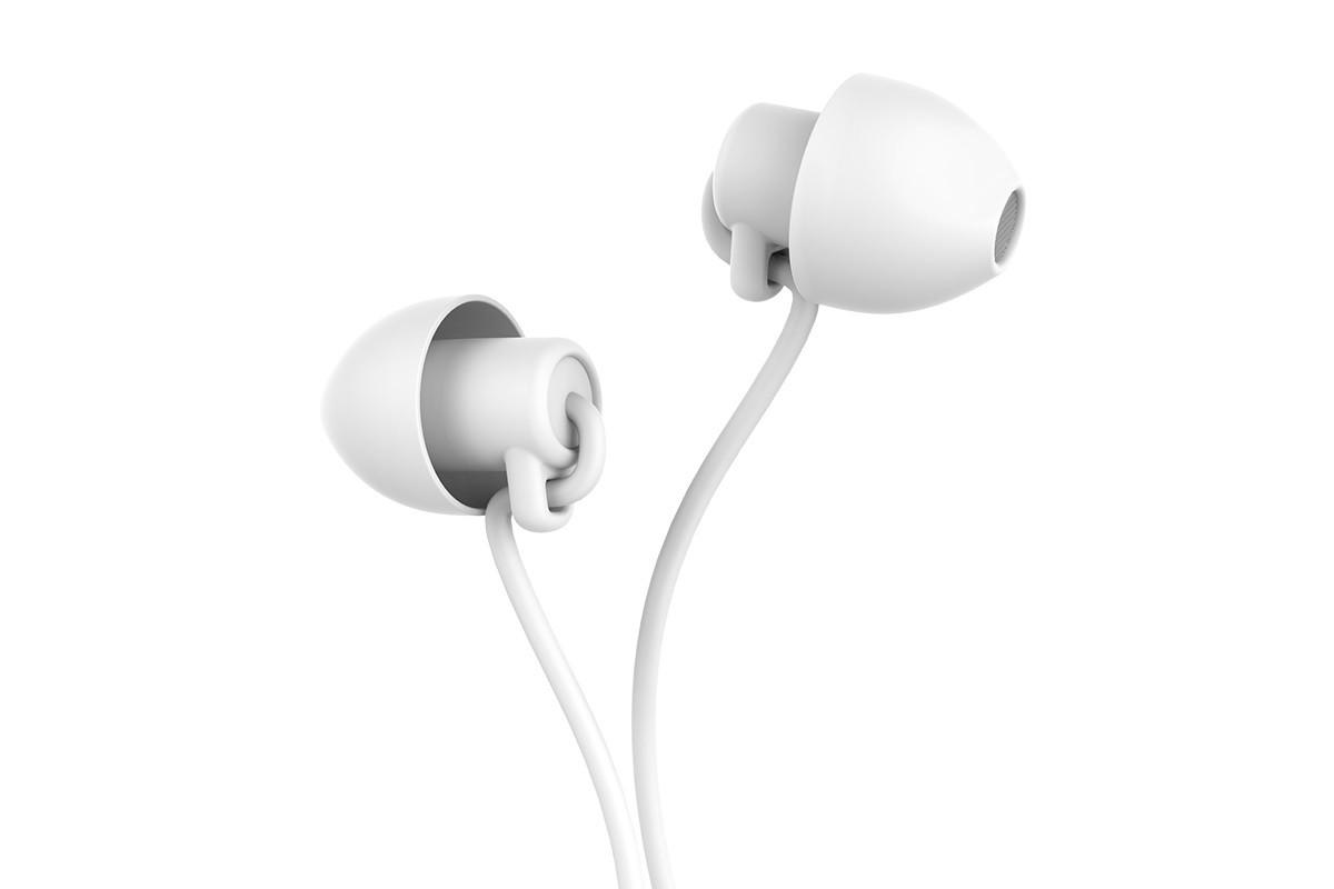 Гарнитура HOCO M56 Audio dream universal earphones with mic белая