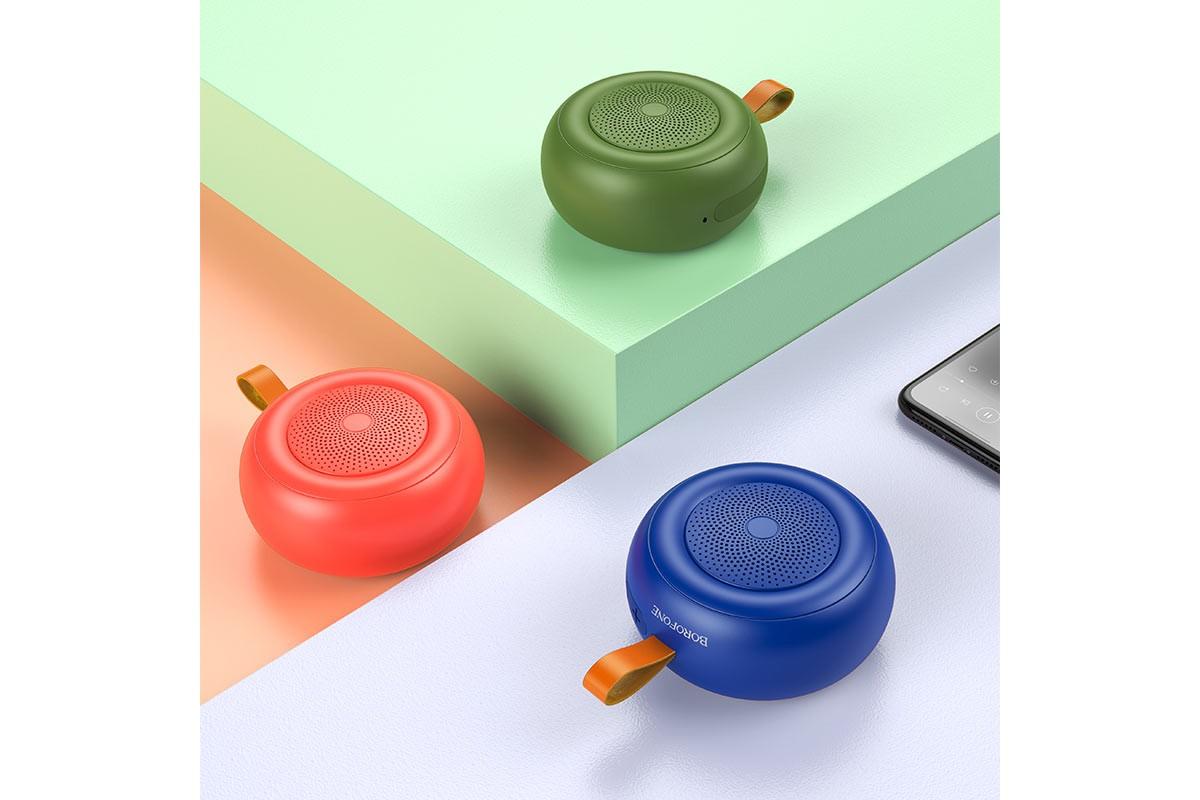 Портативная беспроводная акустика BOROFONE BR10  цвет камуфляж