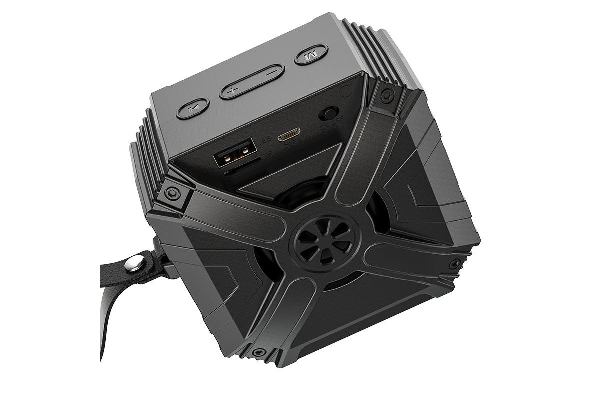 Портативная беспроводная акустика BOROFONE BP6  цвет черный