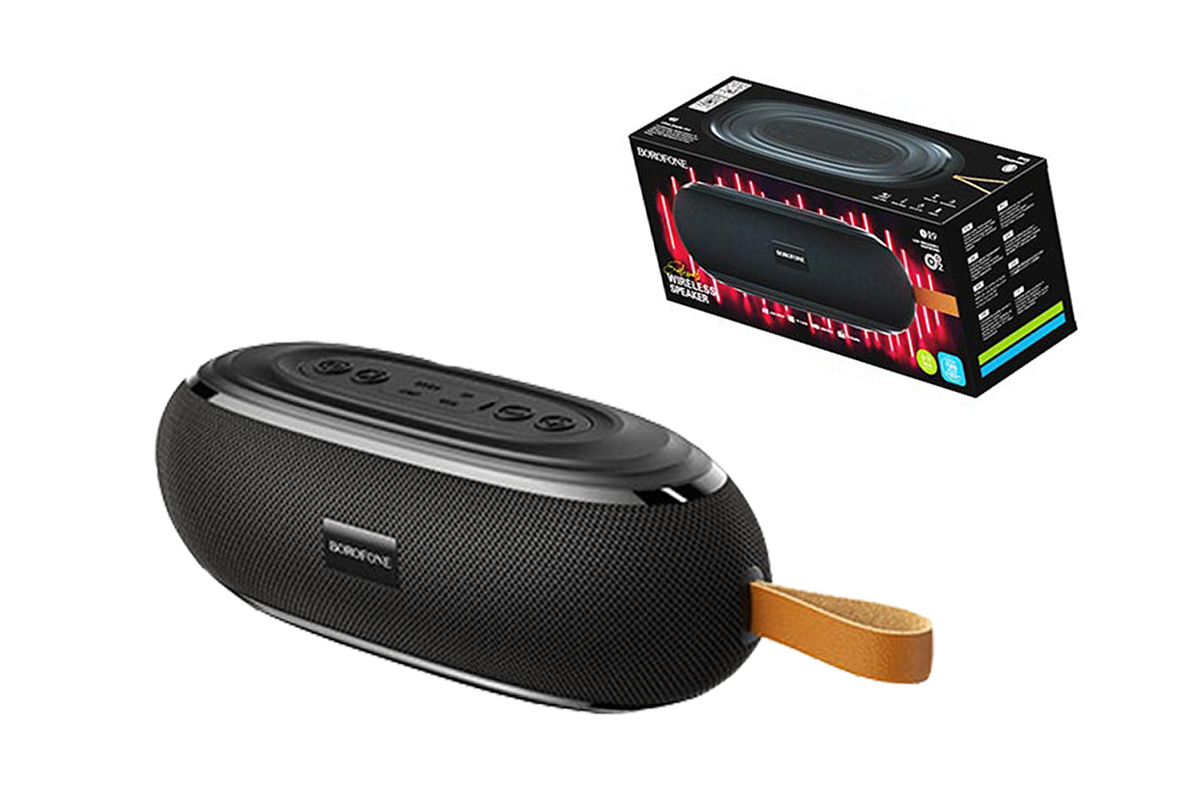 Портативная беспроводная акустика BOROFONE BR9 Erudite sports wireless speaker  цвет черный