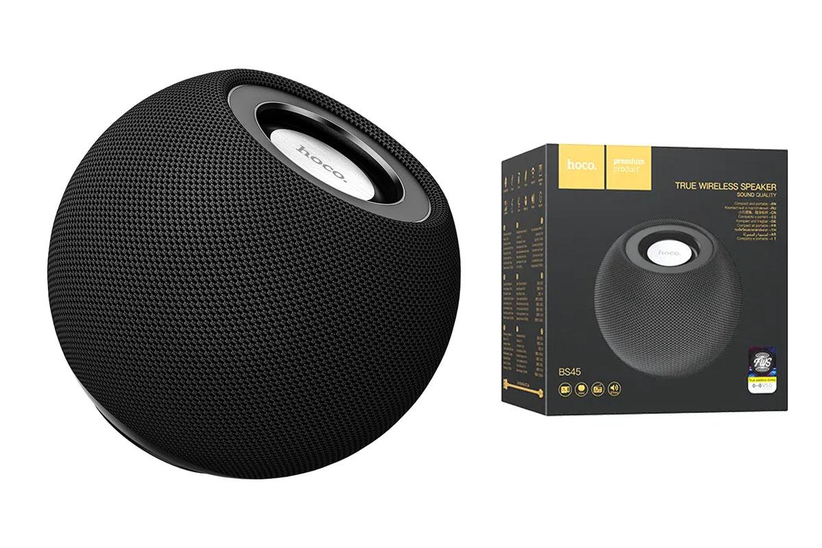 Портативная беспроводная акустика HOCO BS45 Deep sound sports BT speaker цвет черный