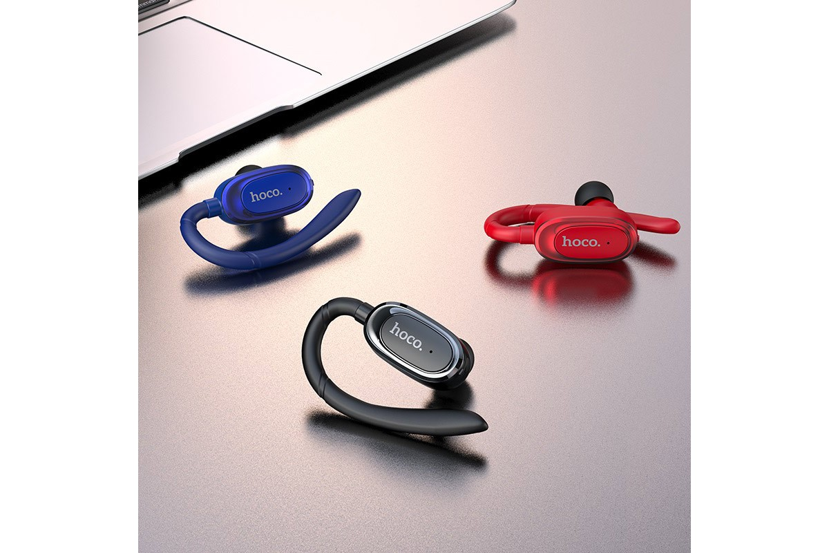 Bluetooth-гарнитура E26 Plus Encourage wireless headset HOCO черная