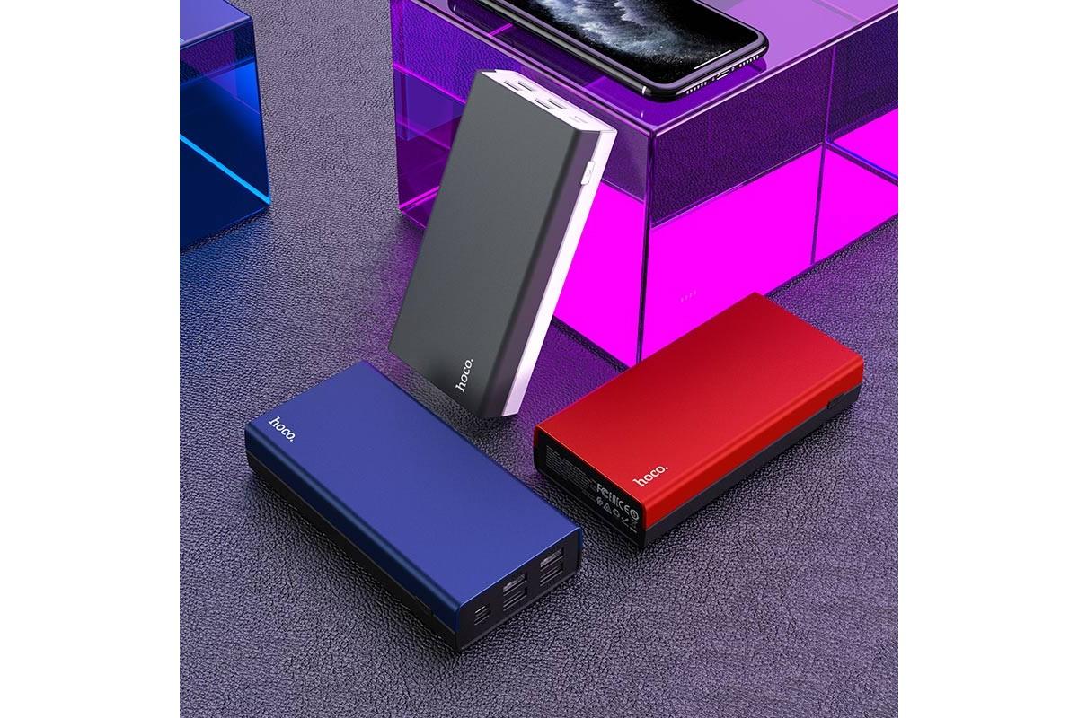 Универсальный дополнительный аккумулятор HOCO J66A Fountain mobile power bank(20000mAh) серый