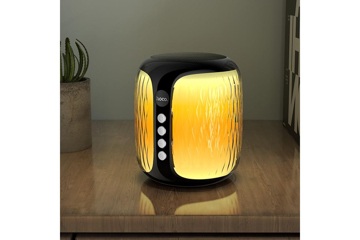 Портативная беспроводная акустика HOCO DS13 colorful light mini цвет черный