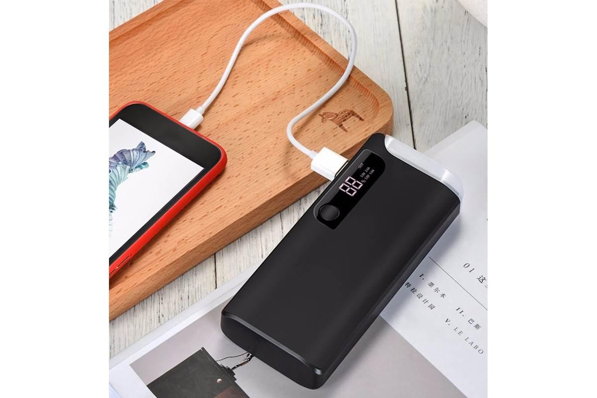 Универсальный дополнительный аккумулятор HOCO B27 Pusi  15000 mAh черный
