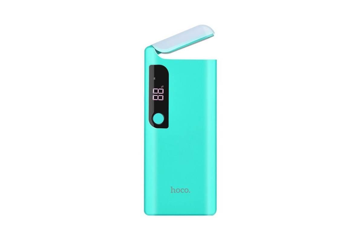 Универсальный дополнительный аккумулятор HOCO B27 Pusi  15000 mAh синий
