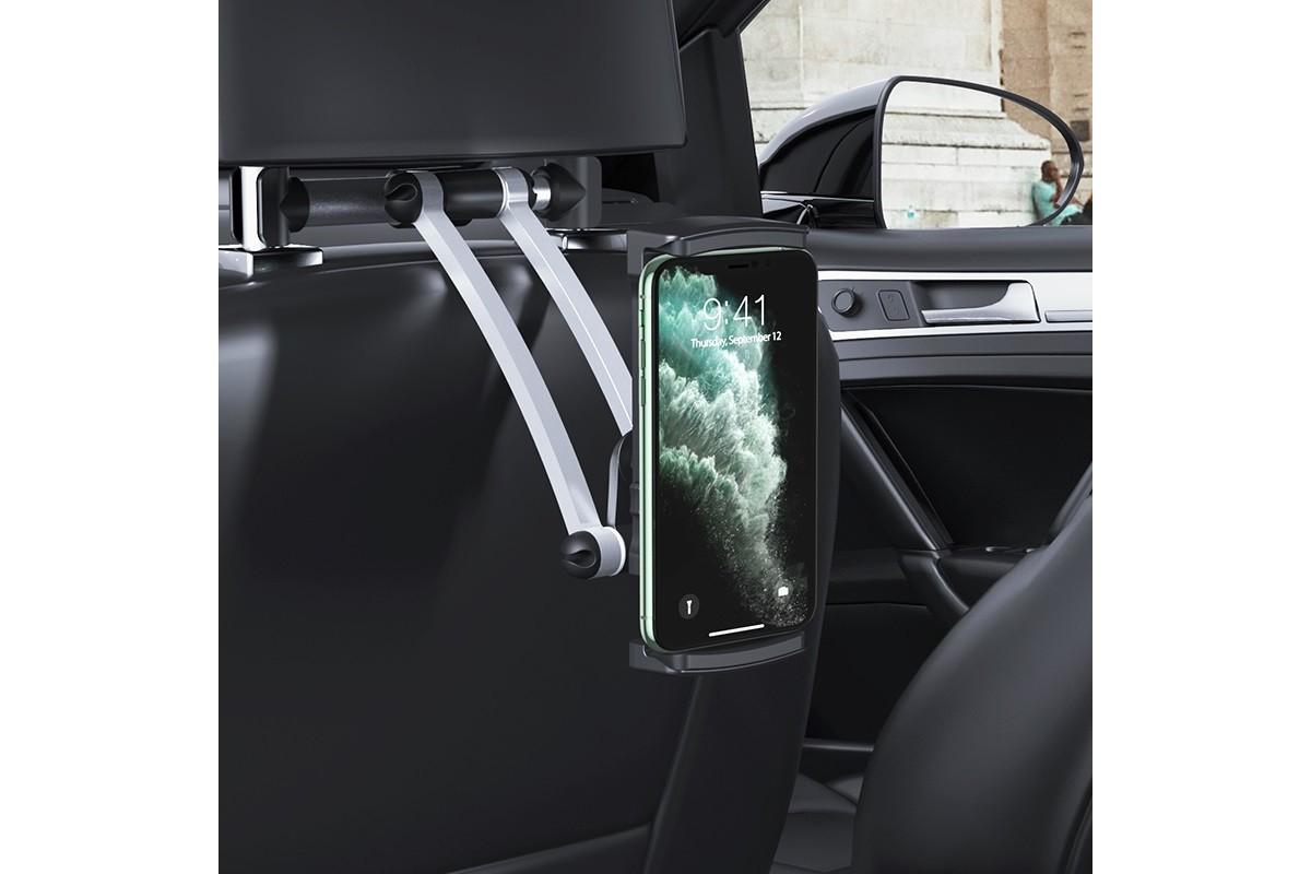 Держатель авто HOCO CA62 Handsome car holder черный (на подголовник для задних пассажиров )