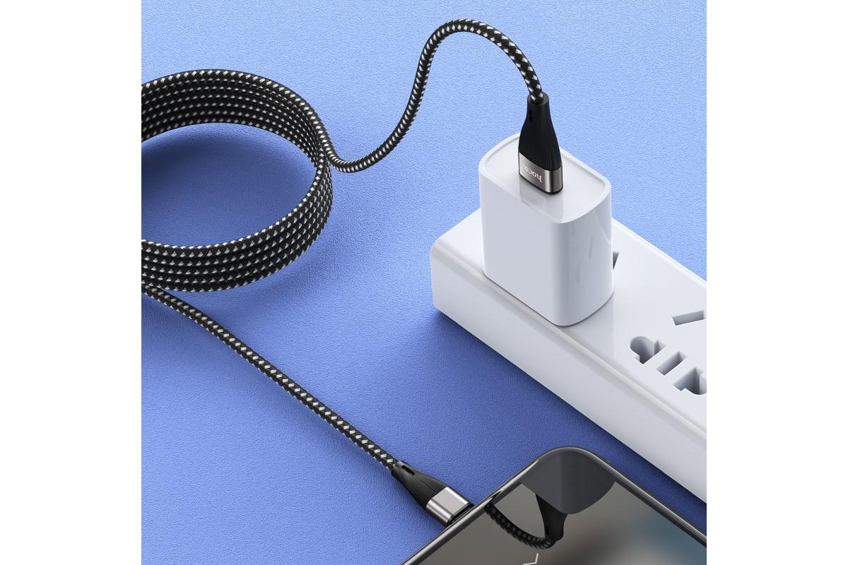 Кабель USB micro USB HOCO X57 (черный) 1 метр