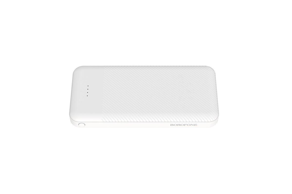 Универсальный дополнительный аккумулятор BOROFONE BT27 Sea  power bank 10000 mAh белый