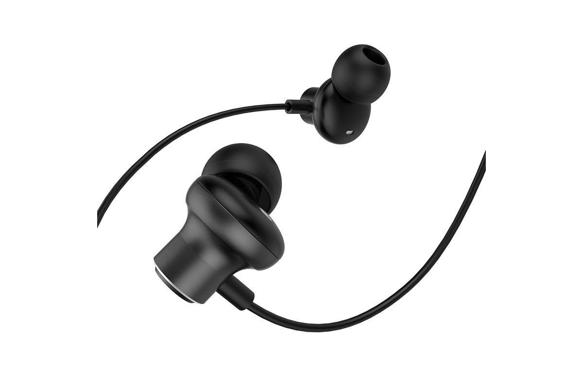 Гарнитура HOCO M44 Magic sound wired earphones with microphone  3.5мм черный