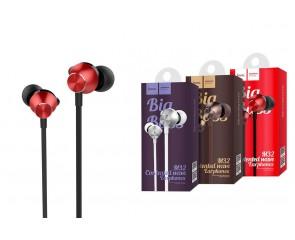 Наушники HOCO M32 Contented wave universal earphones with microphone 3.5м красный