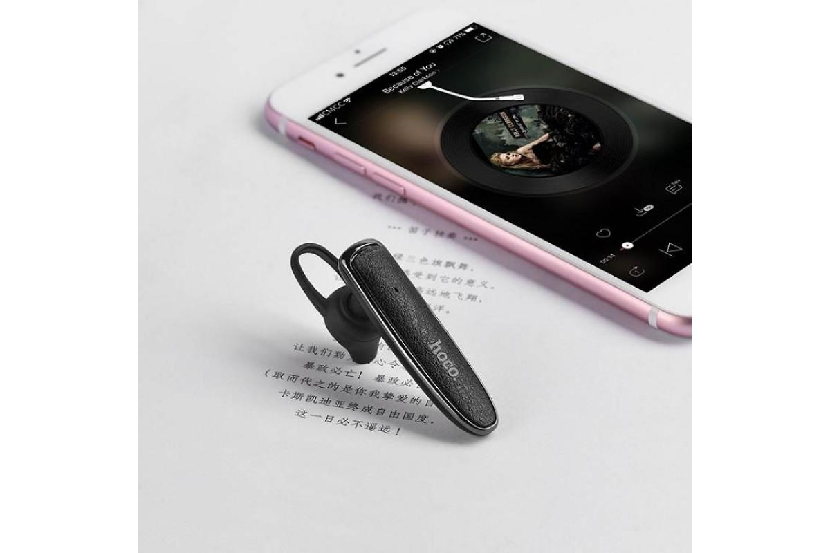 Bluetooth-гарнитура HOCO E29 Splendour, черная
