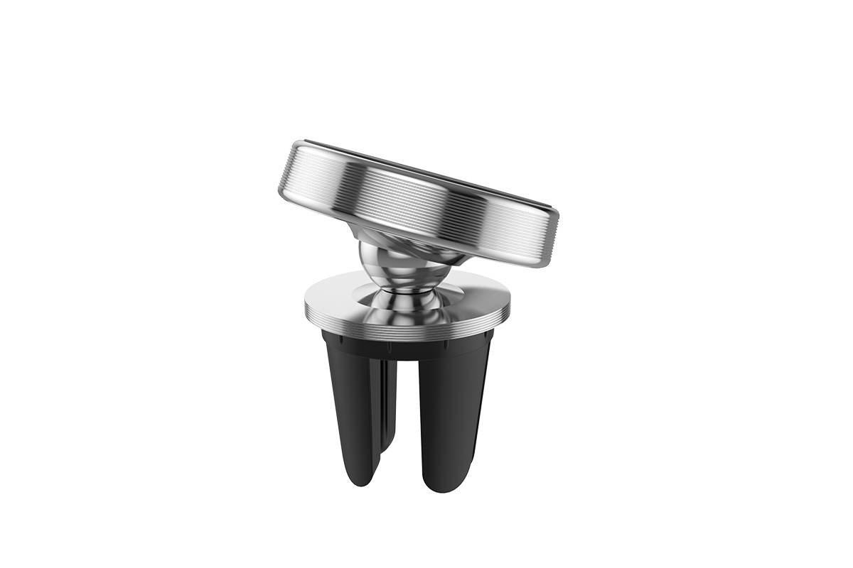 Держатель авто HOCO CA47 Metal magnetic in-car holder for air outlet (в воздуховод) серебристый