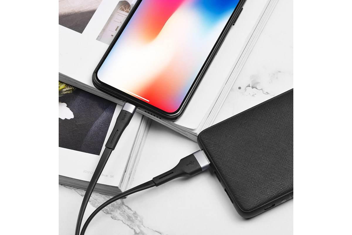 Кабель для iPhone HOCO X34 Surpass charging data cable for Lightning 1м черный
