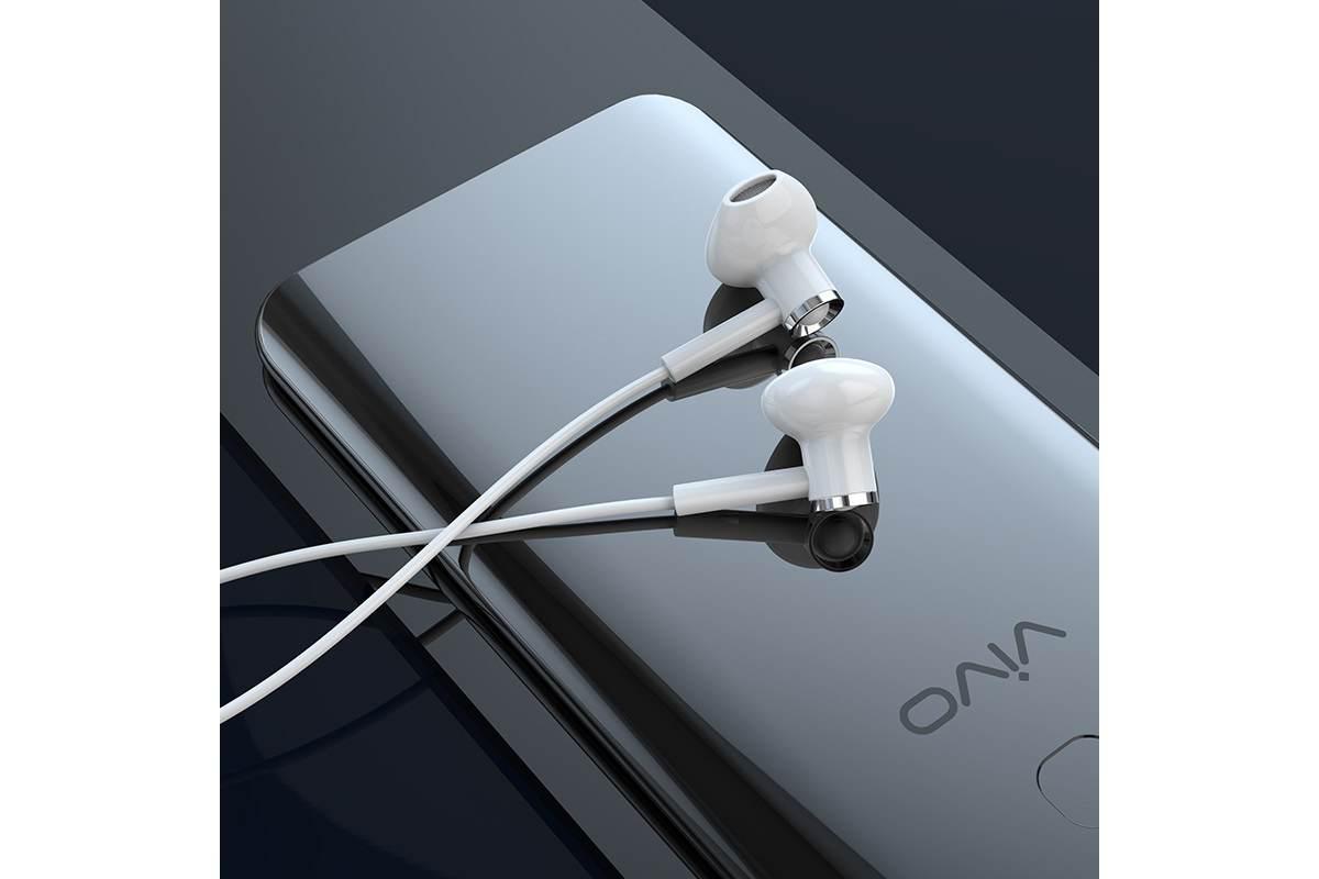 Bluetooth-гарнитура ES21 Wonderful sports wireless headset HOCO белая
