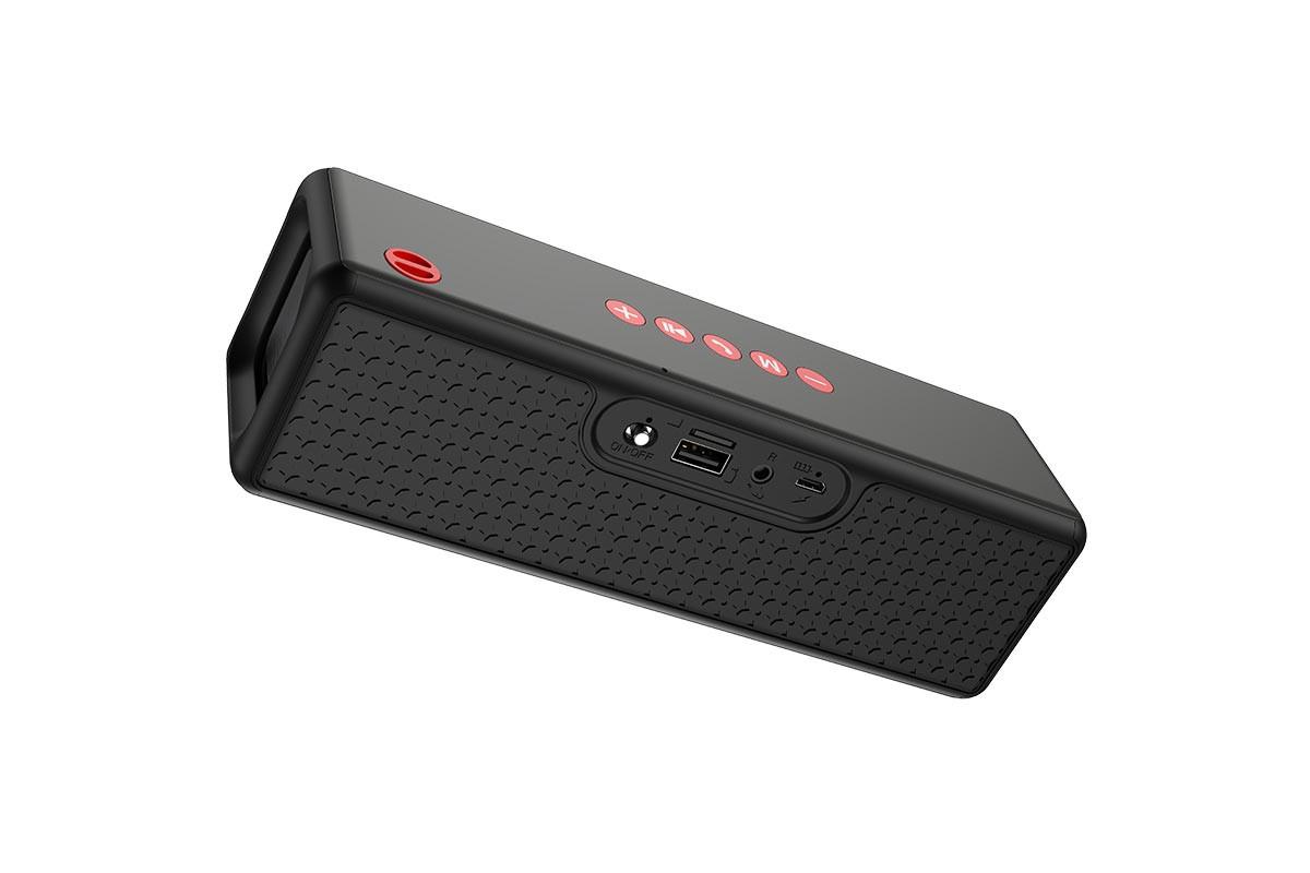 Портативная беспроводная акустика HOCO HC3 Bounce sports BT цвет черный