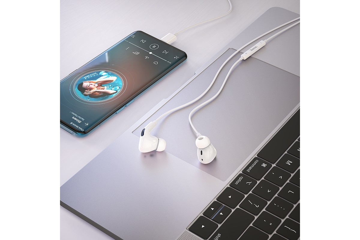 Гарнитура HOCO M1 Pro Original series earphones for Type-C белый