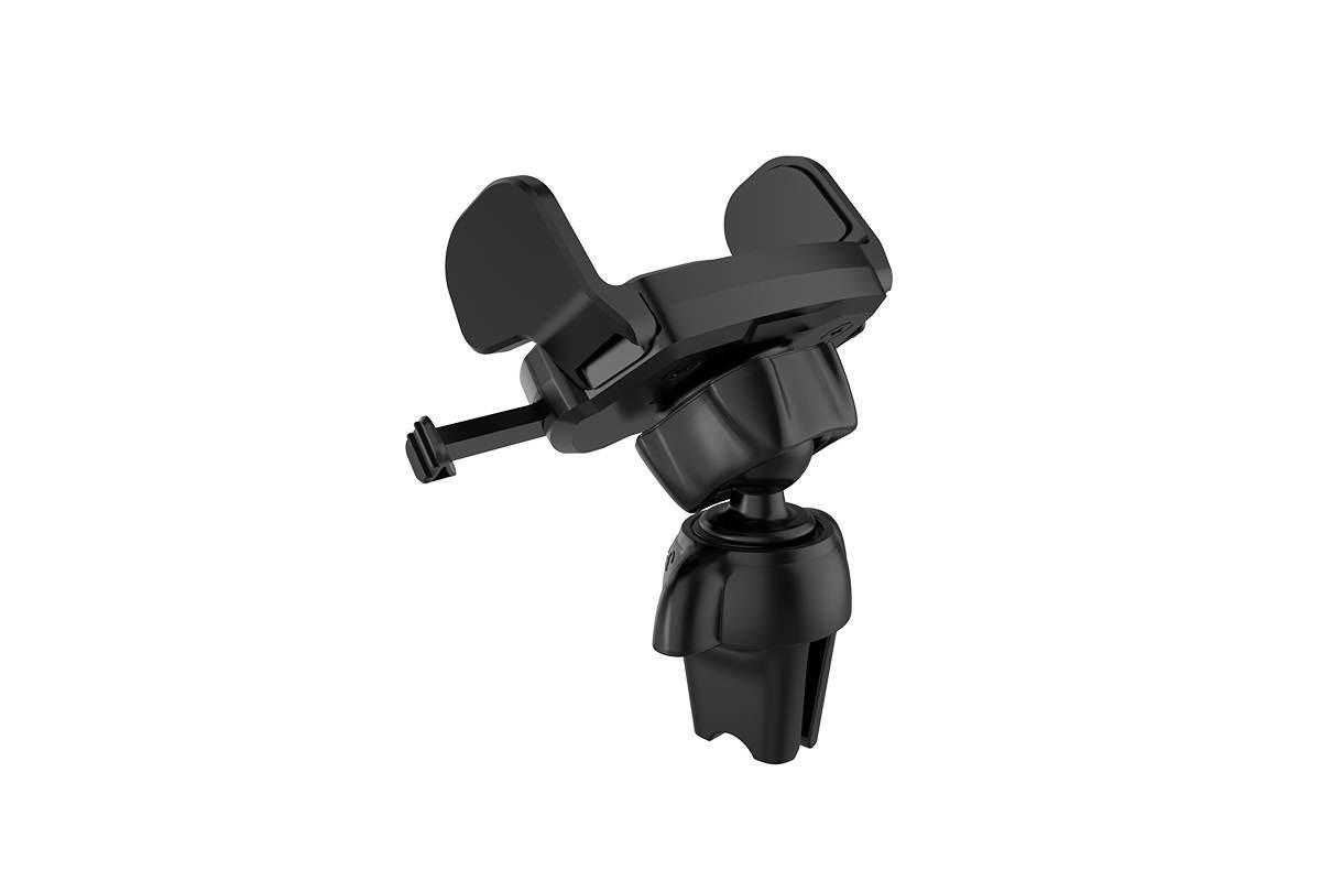 Держатель авто HOCO CA39 Triumph air outlet semi-automatic in-car holder черный