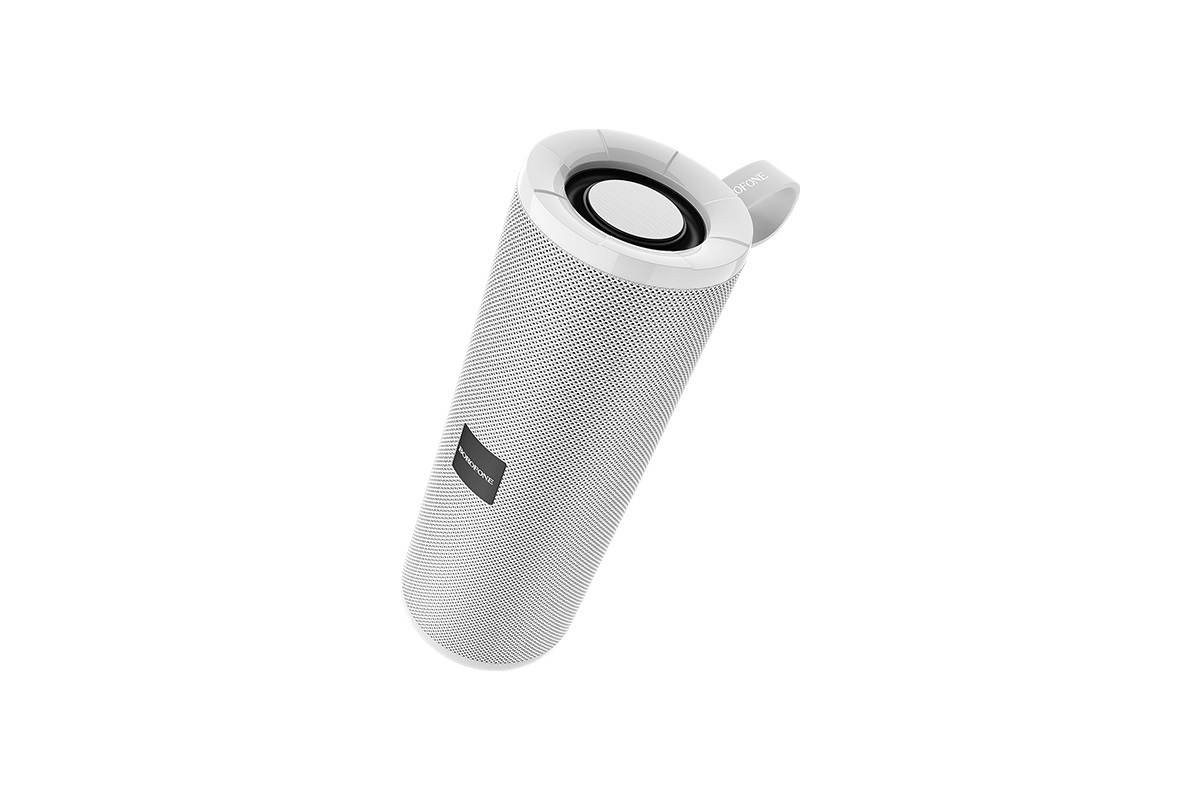 Портативная беспроводная акустика BOROFONE BR1 Beyong sport  цвет серый