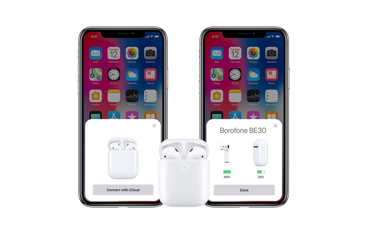 Bluetooth-гарнитура BE30 Original Series Wireless Earphone  BOROFONE белая