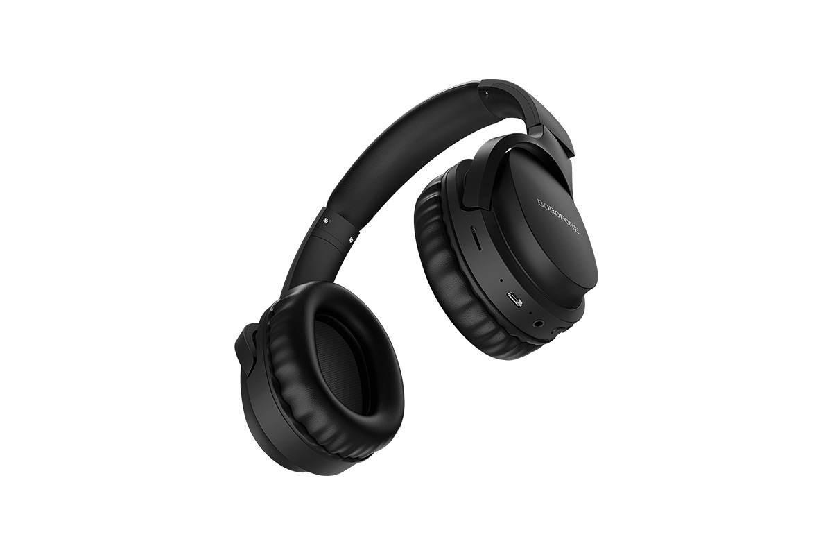 Беспроводные внешние наушники BO7 BOROFONE Broad sound wireless headset черный