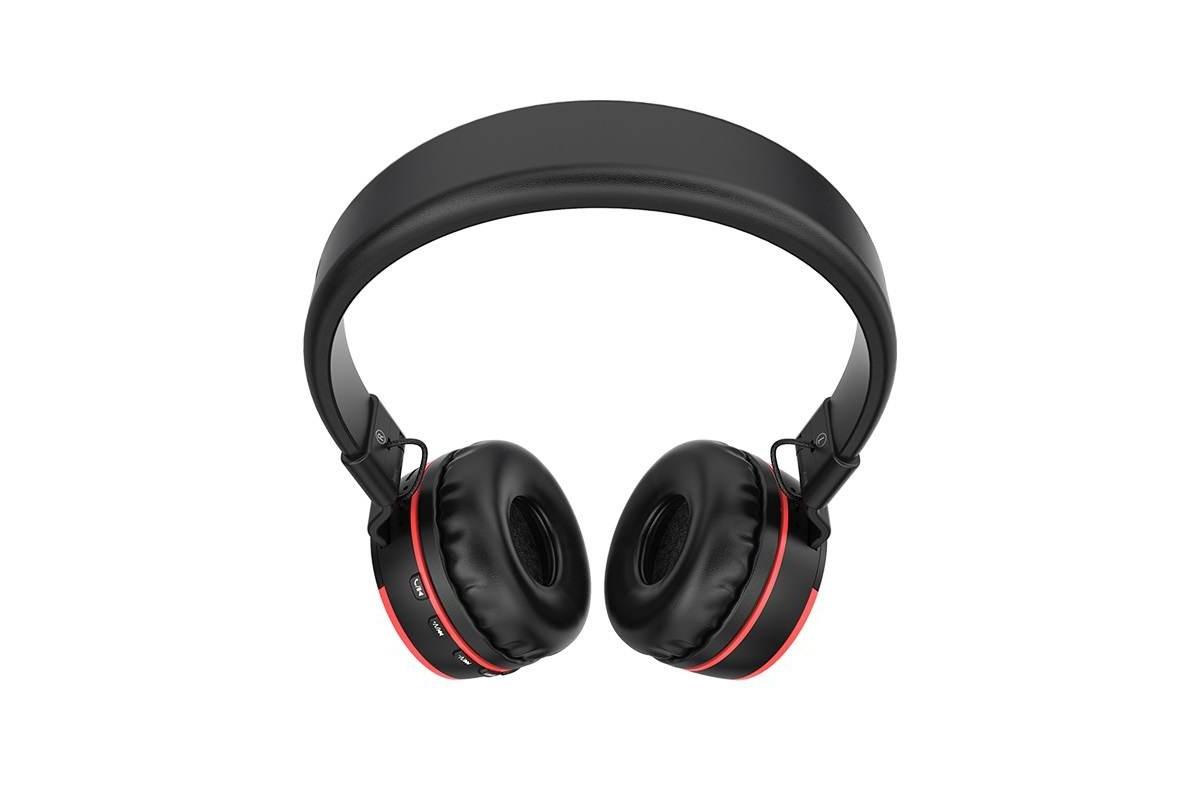 Беспроводные внешние наушники BO3 BOROFONE Rhyme wireless headset красный