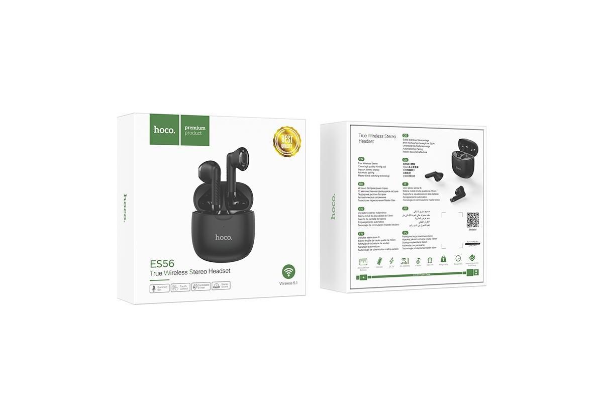 Беспроводные наушники ES56 Scout TWS wiereless headset HOCO черная