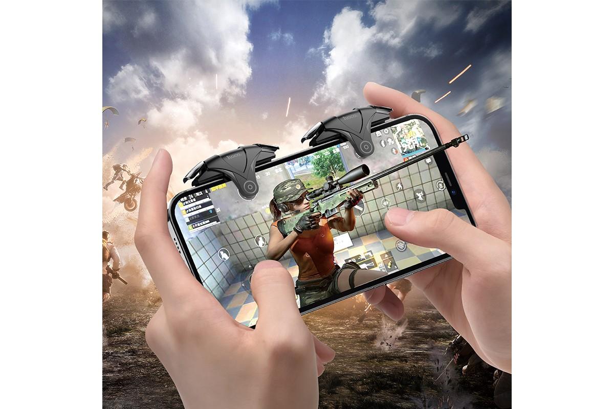 Геймпад триггер для телефона HOCO GM5 Wolf mobile game buttons