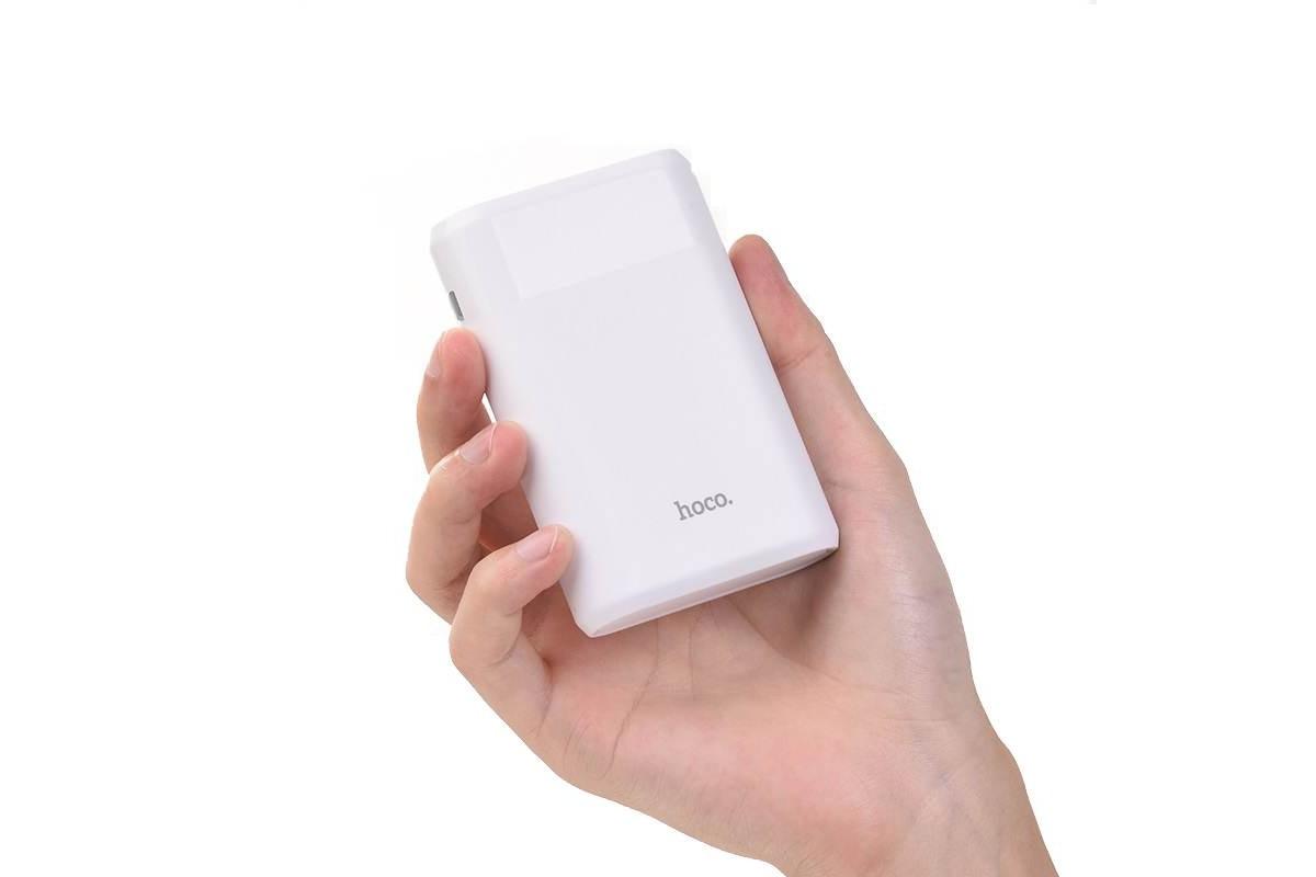 Универсальный дополнительный аккумулятор HOCO B35 B 8000 mAh белый