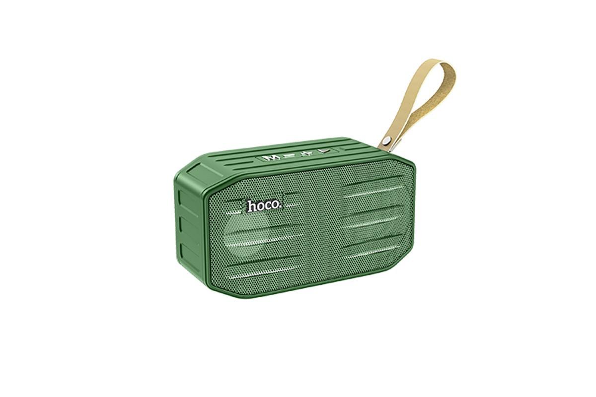 Портативная беспроводная акустика HOCO BS42 Smart sports BT speaker цвет зеленый