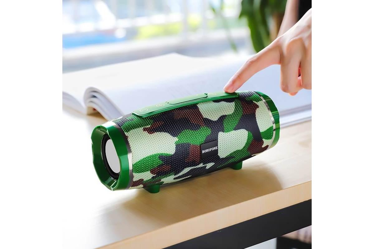 Портативная беспроводная акустика BOROFONE BR3  цвет камуфляж