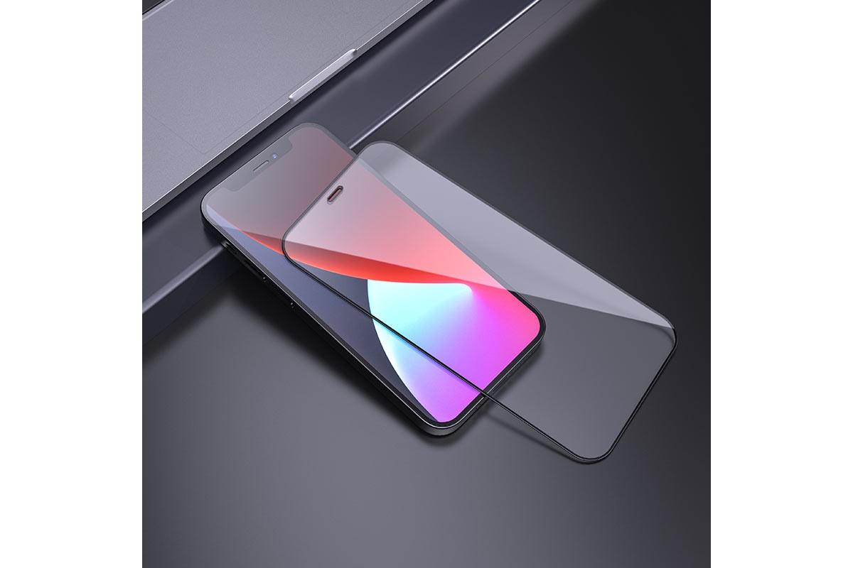 Защитное стекло дисплея iPhone 12/12 Pro (6.1)  HOCO A12 Nano 3D tempered glass прозрачное